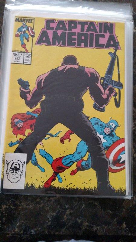 Captain America #331 (Marvel,1987) Condition NM