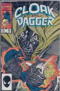 Cloak and Dagger (1985 Marvel 2nd Series) #10 NM
