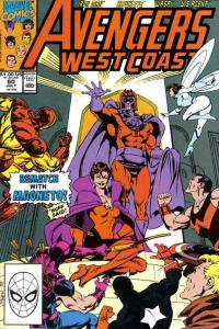 Avengers West Coast #60, NM- (Stock photo)