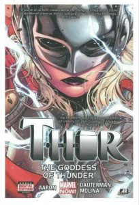 ORIGINAL Vintage 2015 Thor Goddess of Thunder Hardcover Collects Thor 1-5