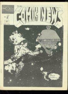 NEW COMIC NEWS FANZINE #5-1968-WEIRDOS IN FANDOM-RARE FN