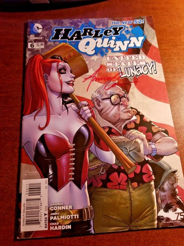 HARLEY QUINN #6 DC NEW 52 NEAR MINT