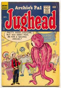 Archie's Pal Jughead #77 1961- monster cover- fat girl gag