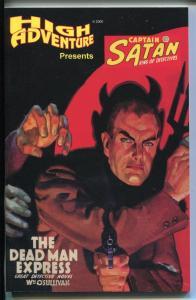 High Adventure-Captain Satan King of Detectives #511 938-reprint pulp-2000-NM