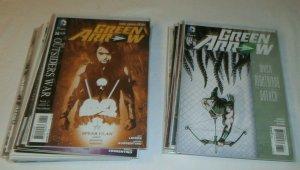 Green Arrow V5 (2011) #26-52 (missing 27,35) Annual #1 New 52 comics lot of 26