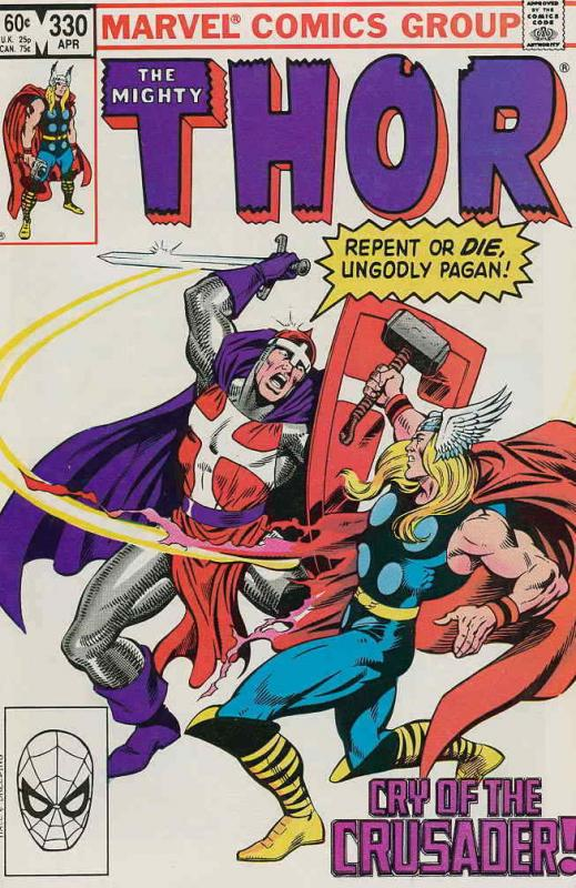 Thor #330 VF/NM; Marvel | save on shipping - details inside