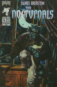 Nocturnals, The #4 VF/NM; Malibu | save on shipping - details inside