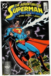 ADVENTURES OF SUPERMAN #440 (VF+) No Resv! 1¢ Auction! See More!!!
