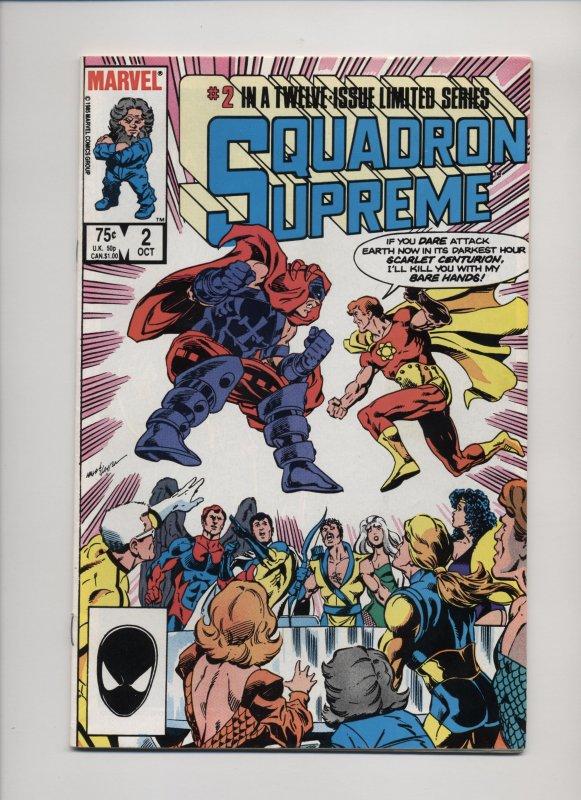 Squadron Supreme #2 (1985)