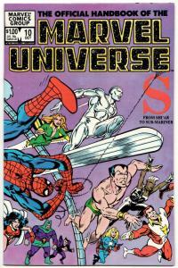 Official Handbook of the Marvel Universe #10 (1983) VF-