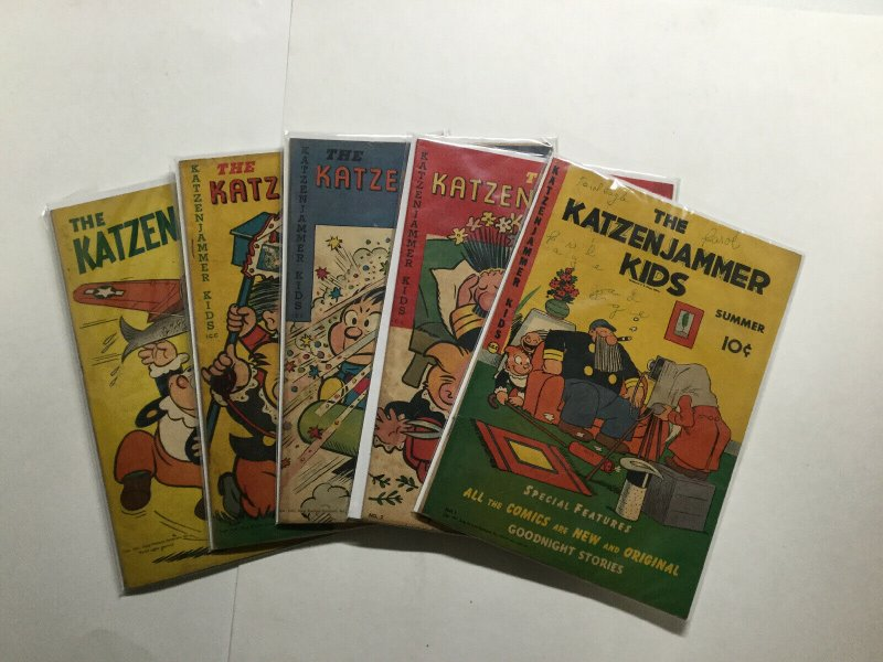 Katzenjammer Kids 1-4 1 2 3 4 Plus Feature 41 Lot Run Set Vg To Fn King Features