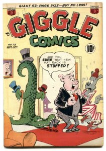 Giggle #73 1950- alligator cover- ACG golden age VG/F