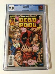 Deadpool 38 Cgc 9.8 1997 Series New Case Design
