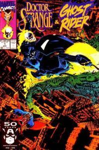 Doctor Strange: Sorcerer Supreme Ghost Rider Special #1, NM- (Stock photo)