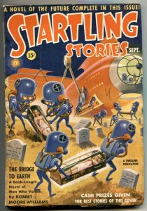 Startling Stories Pulp September 1939- 1st Schomburg pulp cover FN-