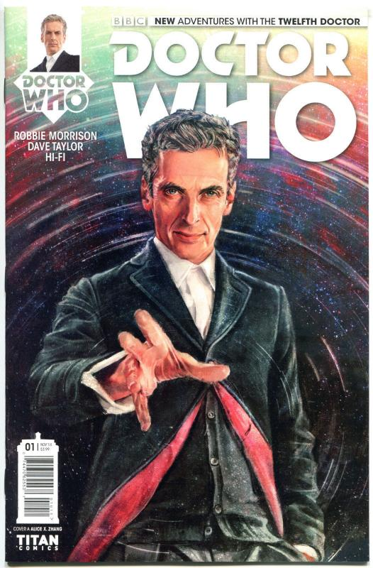 DOCTOR WHO #1 A, NM, 12th, Tardis, 2014, Titan, 1st, more DW in store, Sci-fi