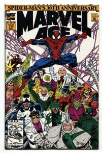 Marvel Age #114 1992 Carnage cover-comic book