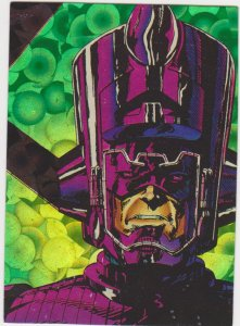 1992 Comic Images Silver Surfer Card #2 Galactus