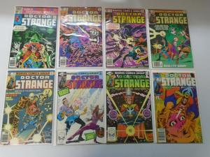 Doctor Strange (2nd series) 1980-1986 #43-80 26 different issues 8.0 VF