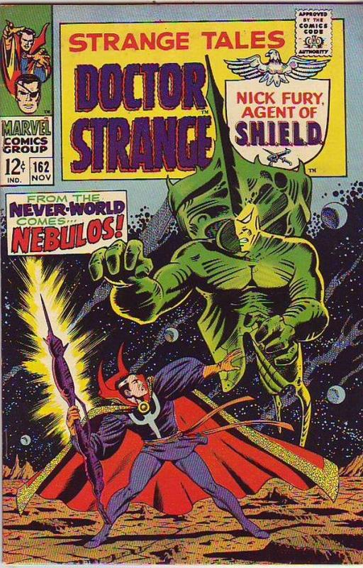 Strange Tales #162 (Nov-67) VF- High-Grade Nick Fury, Dr. Strange