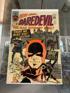 Daredevil 9 VG-/VG early Red Suit