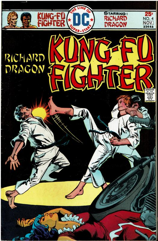 Richard Dragon: Kung-Fu Fighter #4, 8.0 or better