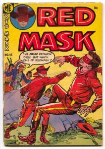 Red Mask #45 1954-Ghost Rider- Western G+
