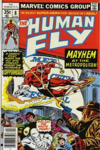 Human Fly, The #8 FN; Marvel | save on shipping - details inside