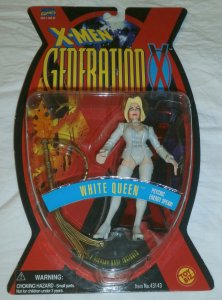Toy Biz 1996 X-Men: Generation X: White Queen action figure