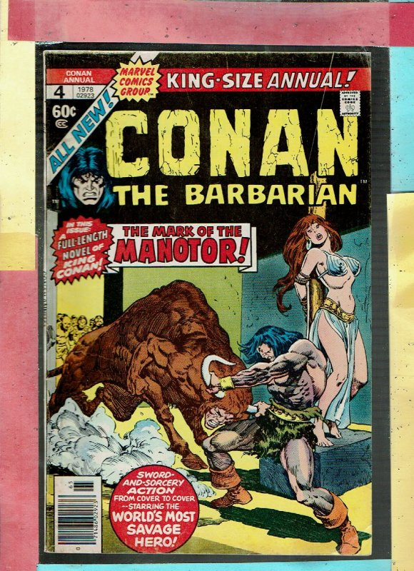 KING SIZE CONAN THE BARBARIAN 4