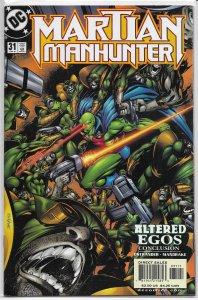 Martian Manhunter (vol. 2, 1998) #31 VF/NM (Altered Egos 3) Ostrander/Mandrake