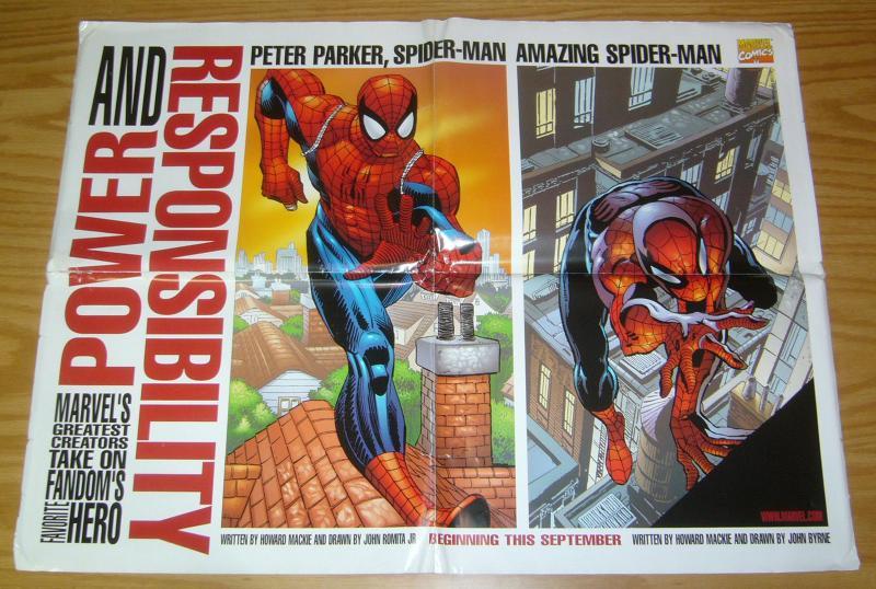 Spider-Man: Power and Responsibility poster - john byrne - john romita 1998