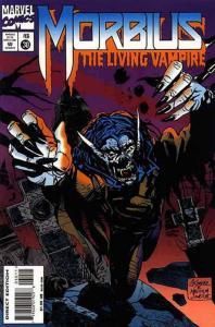 Morbius: The Living Vampire #30 VF; Marvel | save on shipping - details inside