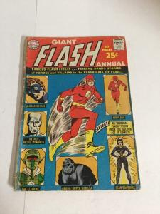 Flash Annual 1 Gd Good 2.0 Cover Almost Detached Silver Age