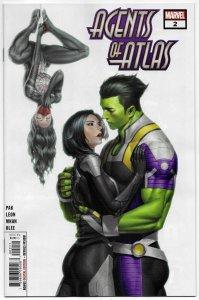 Agents Of Atlas #2 (Marvel, 2019) NM