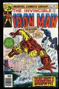 Iron Man #87 NM+ 9.6 Marvel Comics
