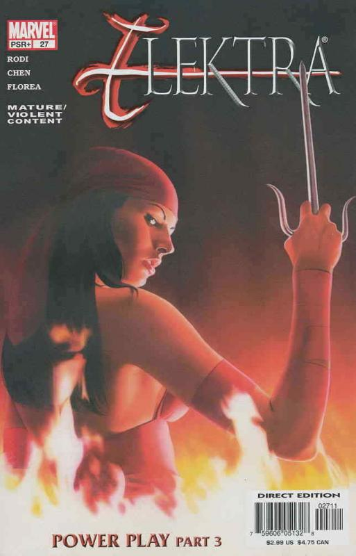 Elektra (3rd Series) #27 VF/NM; Marvel | save on shipping - details inside