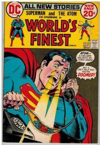 WORLDS FINEST 213 VG+ Sept. 1972