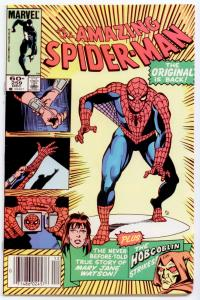 Amazing Spider-Man #259 HIGH GRADE  Origin of Mary Jane; Hobgoblin, the Rose