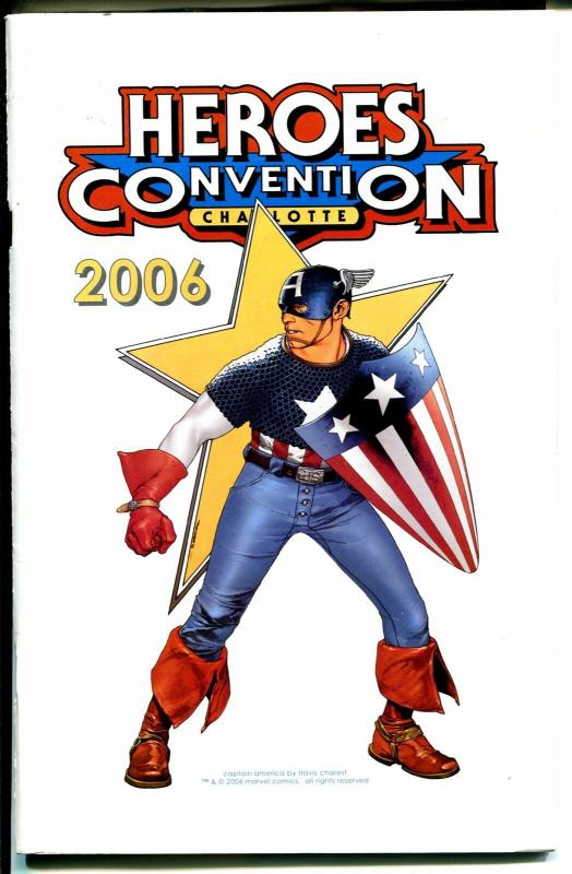 Heroes Convention Program Book 2006-Captain America-FR