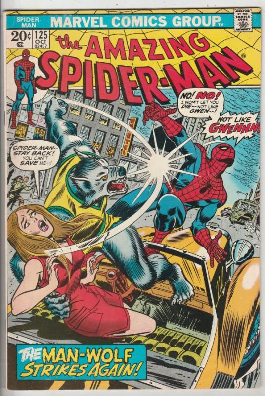 Amazing Spider-Man #125 (Oct-73) NM- High-Grade Spider-Man