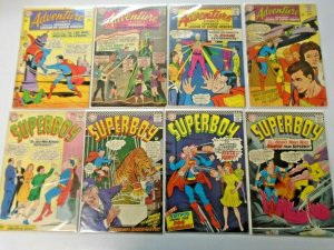 Silver Age Superboy Comic Lot 12¢ Covers 16 Different Average 4.0 VG