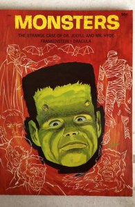 Monsters-the strange case of Dr. Jekyll and Mr. Hyde Frankenstein Dracula,NM1965