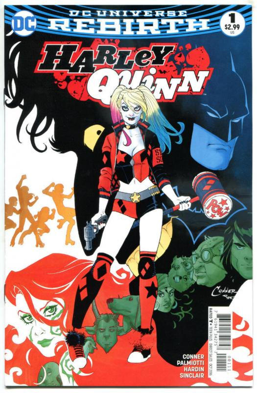 HARLEY QUINN #1 2 3 4-10, NM, Amanda Conner, 2016, more HQ in store, 1-10 set A