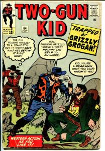 Two-Gun Kid #64 1963-Marvel-John Severin-JacK Kirby-VG-