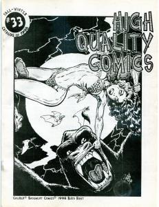 CaveWoman, Budd Root, Usagi Yojimbo, Sheena, High Quality Comics Catalogs