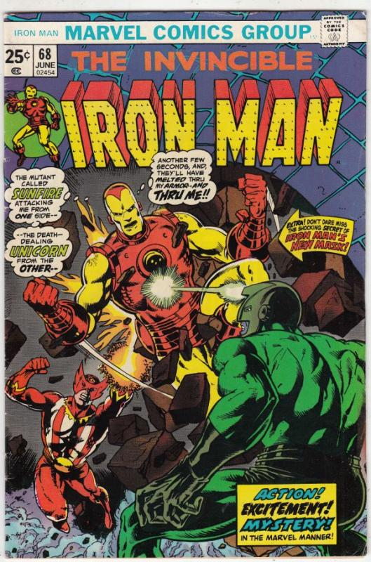 Iron Man #68 (Jun-74) VF/NM High-Grade Iron Man
