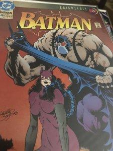DC Batman KnightFall #498 Mint