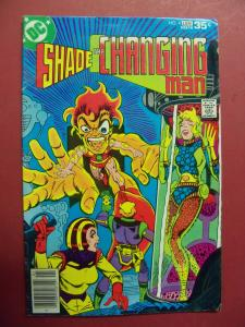 SHADE THE CHANGING MAN #4 (VG/FN 5.0 TO 5.5) Steve Ditko art DC Comics