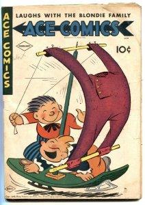 Ace Comics #83 1944- Phantom- Jungle Jim G/VG
